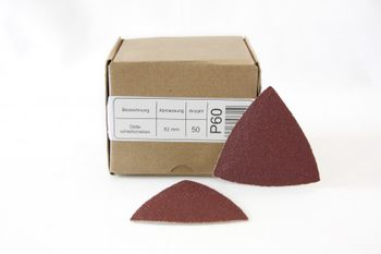 50 SANDERSHARK Deltablätter 82mm K120 klett Markenqualität – Bild 2