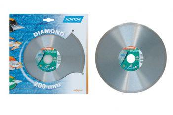 1 Stück Diamantscheibe NORTON Clipper Classic 200 x 25,4 mm Fliese