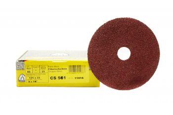 25 Klingspor Fiberscheiben CS561 235mm K40 Loch Metall Inox Holz Made in EU – Bild 2