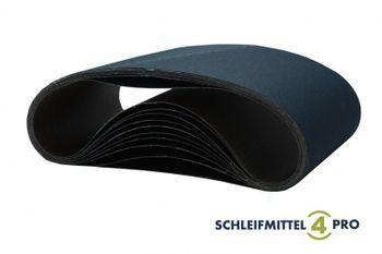 5 Stück SANDERSHARK Schleifbänder 200 x 750 mm Korn 40 Zirkon – Bild 1