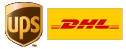 UPS + DHL