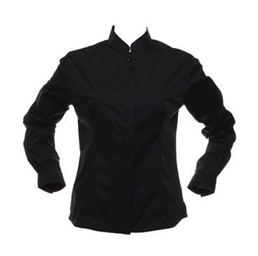 Kustom Kit: Bargear™ Mandarin Collar Shirt Lady LS KK740 – Bild 2