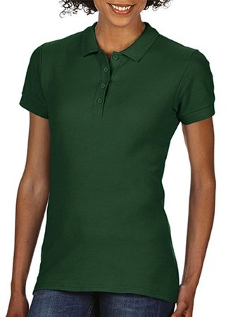Gildan: Softstyle Ladies Double Pique Polo 64800L – Bild 11