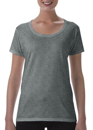 Gildan: Softstyle Ladies` Deep Scoop T-Shirt 64550L – Bild 6