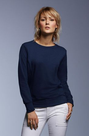 Anvil: Women`s French Terry Sweatshirt 72000L – Bild 1