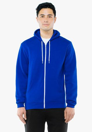 American Apparel: Unisex Flex Zip Hooded Sweat F497WA – Bild 9