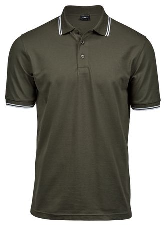 Tee Jays: Luxury Stripe Stretch Polo 1407  – Bild 6