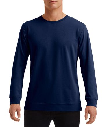 Anvil: Unisex Light Terry Crew 73000 – Bild 7