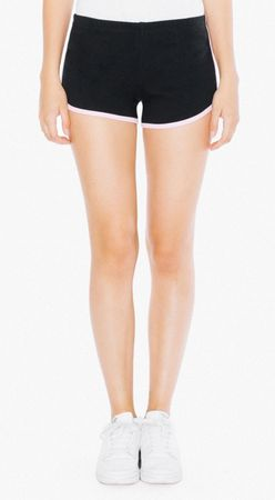 American Apparel: Women`s Interlock Running Shorts 7301W – Bild 9