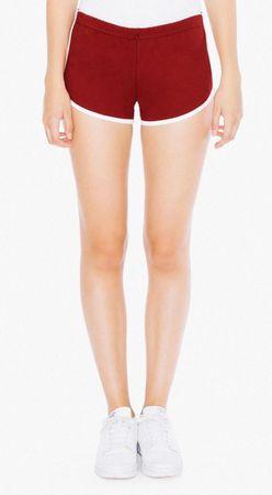 American Apparel: Women`s Interlock Running Shorts 7301W – Bild 13