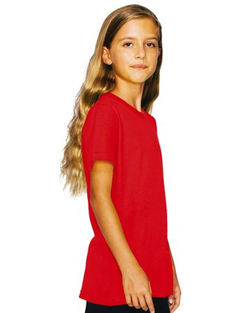 American Apparel: Youth Fine Jersey T-Shirt 2201W