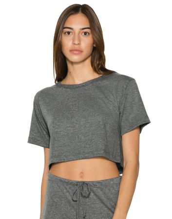 American Apparel: Women`s Tri-Blend Scrimmage T-Shirt TR480W