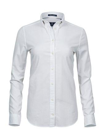 Tee Jays: Ladies Perfect Oxford Shirt 4001 – Bild 2