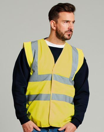 UCC: 4-Band Safety Waistcoat UCC054