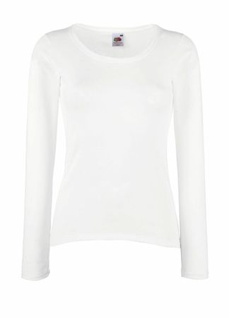 Fruit of the Loom: Lady-Fit Valueweight LS T-Shirt 61-404-0 – Bild 2