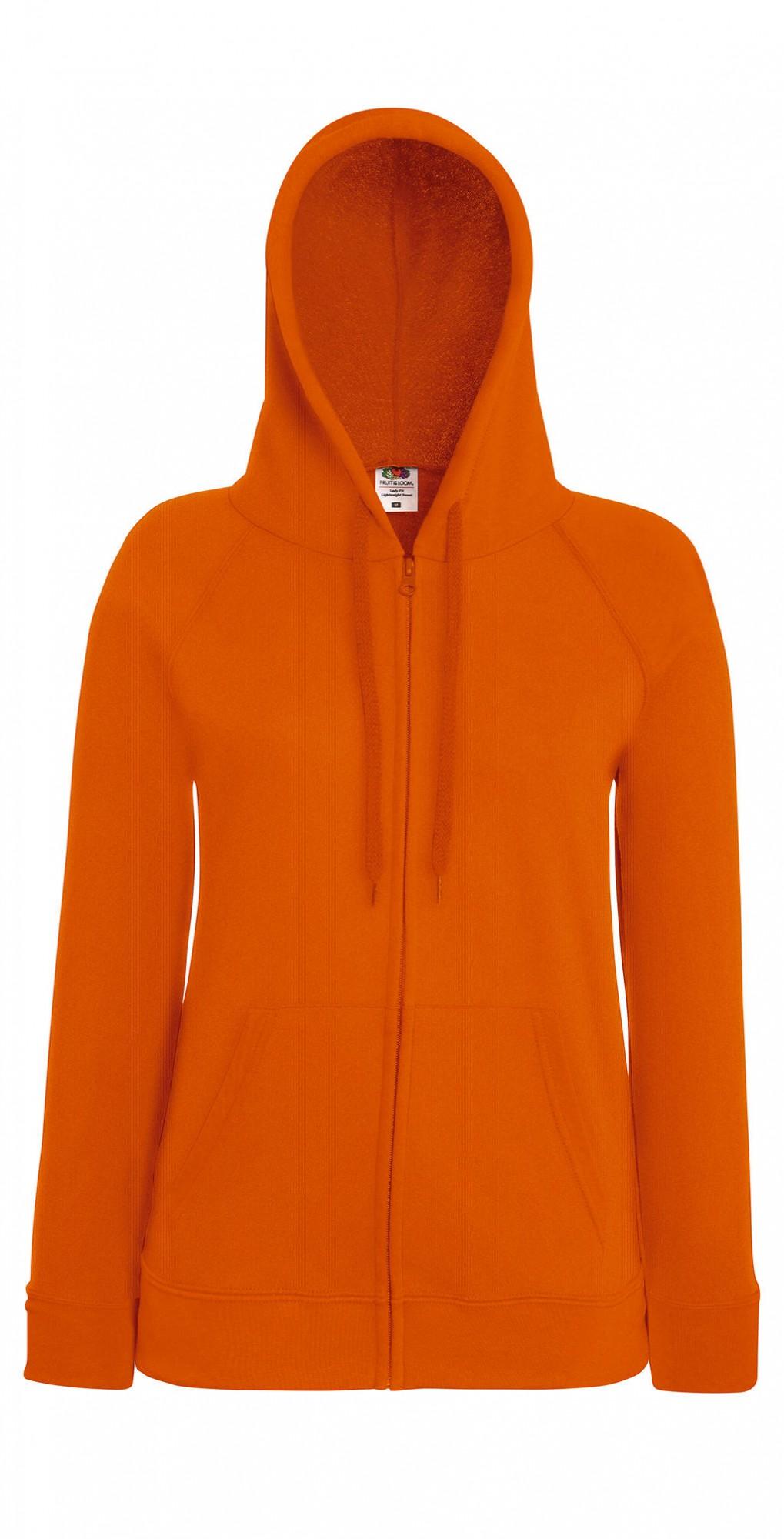 Lady Fit Lightweight Hooded Sweat Jacket