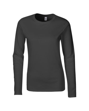 Gildan: Ladies` Softstyle T-Shirt LS 64400L – Bild 5