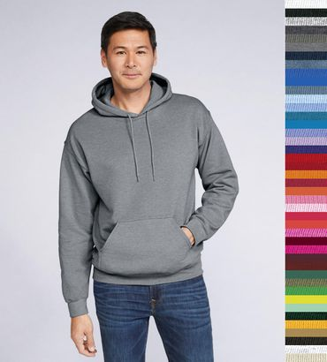 Gildan: Heavy Blend Hooded Sweat 18500