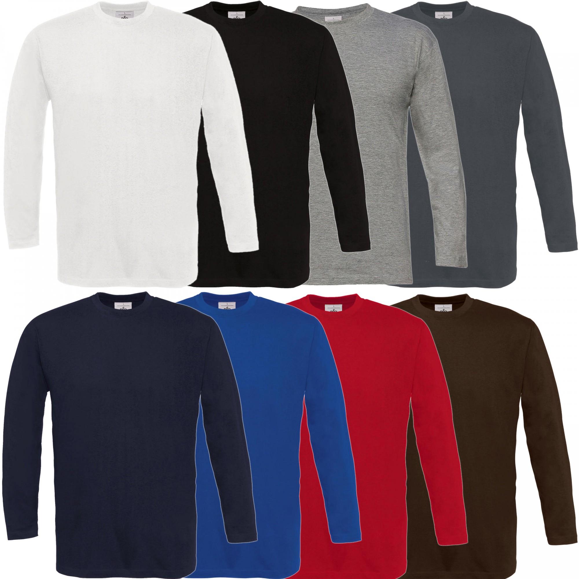 B&C: Langarm T-Shirt Exact 190 LSL TU005