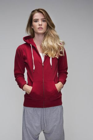 Mantis: Ladies` Superstar Zip Through Hoodie M84 – Bild 1