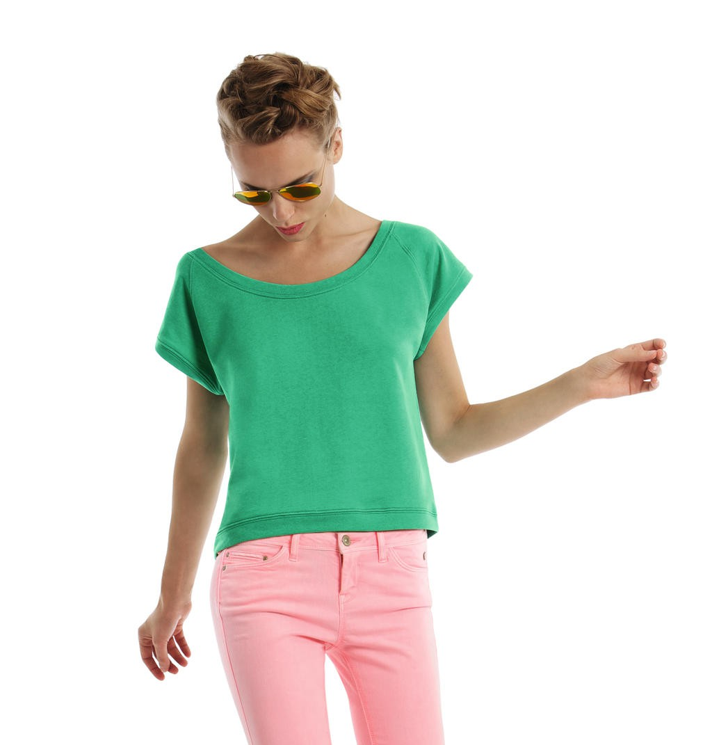 B&C: Ladies` Summer Sweat short-sleeved Bliss Women