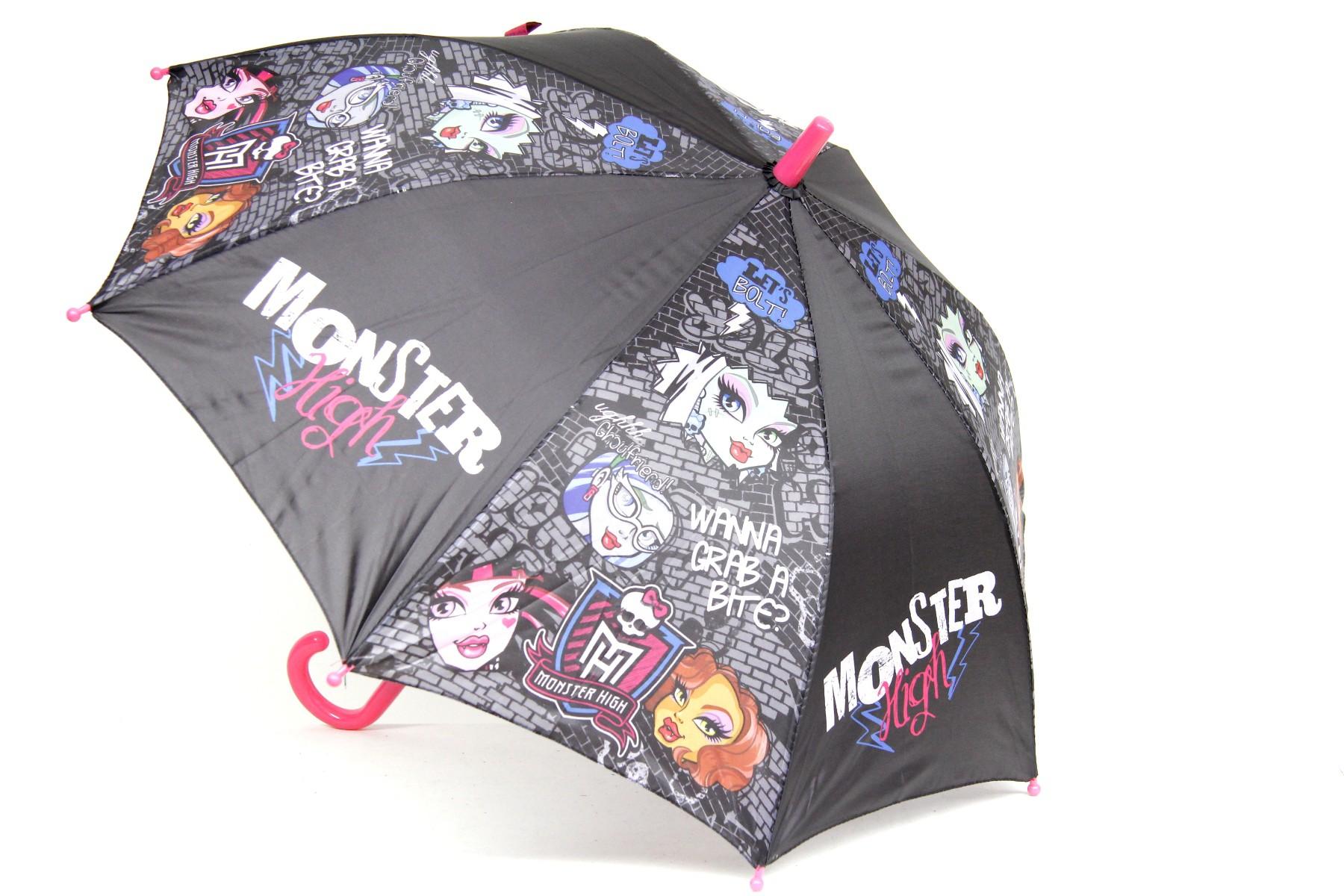 Regenschirme Regenschirm Monster High Ø 75cm Kinderschirm Regenschutz Schirm Kinder Reisen