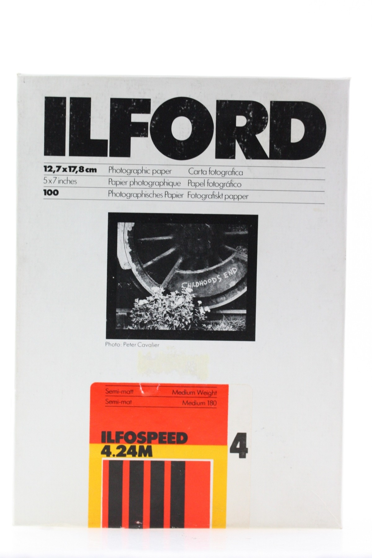 Ilford Ilfospeed 4 Semi-Matt 4.24M 5x7\