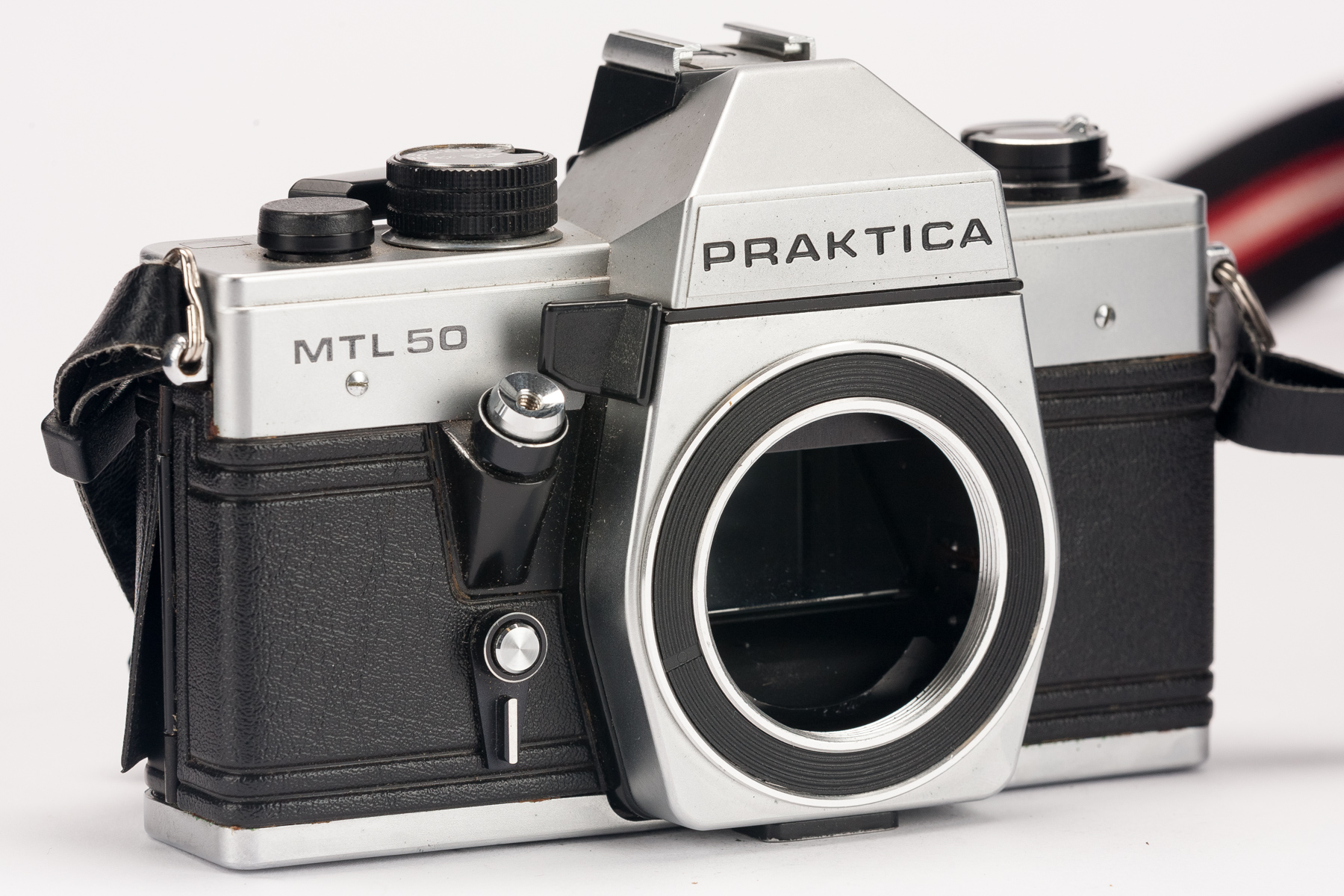 Praktica mtl 50 mtl50 slr kamera gehäuse body spiegelreflexkamera