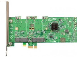 MikroTik RouterBOARD RB14e, miniPCI-express zu PCI-express Adapter