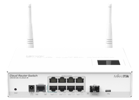 MikroTik Cloud Router Switch - CRS109-8G-1S-2HnD-IN