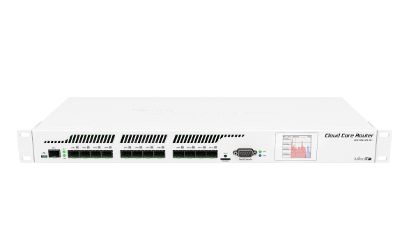 MikroTik Cloud Core Router - CCR1016-12S-1S+