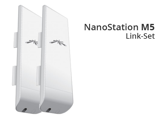 Ubiquiti NanoStation M5 - NSM5 - Link Set