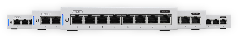 Ubiquiti UniFi Switch 8 - 5er Pack - US-8-5