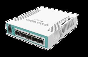 MikroTik Cloud Router Switch - CRS106-1C-5S