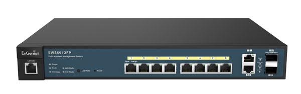 EnGenius 8-Port Switch - EWS5912FP