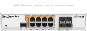 MikroTik Cloud Router Switch - CRS112-8P-4S-IN