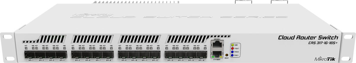 Mikrotik Cloud Router Switch Crs317 1g 16s Rm