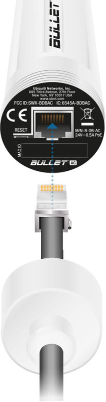 Ubiquiti Bullet AC - B-DB-AC