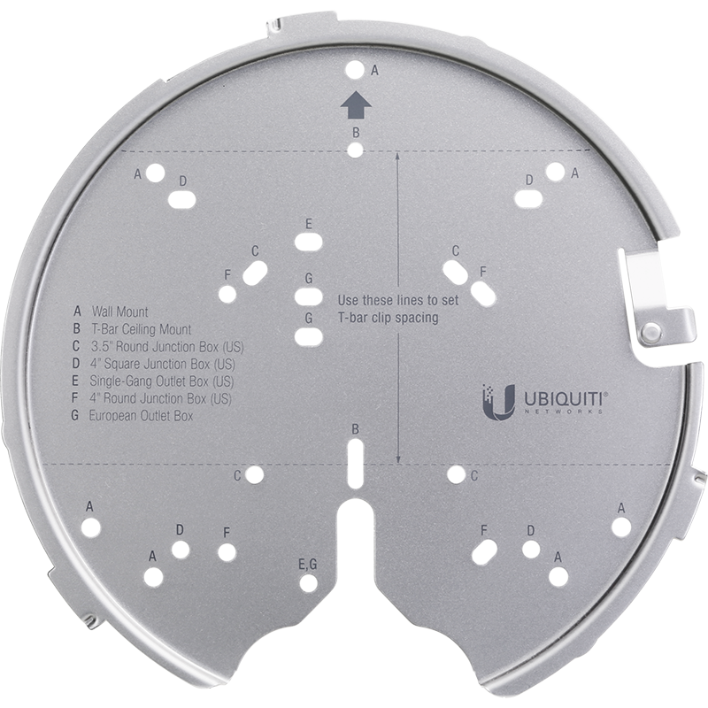 Ubiquiti UniFi Professional Mounting System - U-PRO-MP
