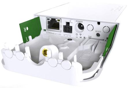 MikroTik wAP LTE kit - mit mANT LTE 5o und SMA Kabel - B-Ware
