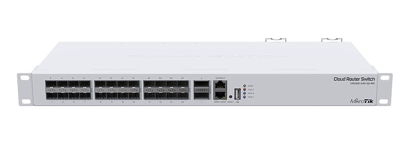 MikroTik Cloud Router Switch - CRS326-24S+2Q+RM