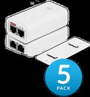 Ubiquiti PoE-24 Netzteil weiß - POE-24-12W-G-5P - 5er Pack