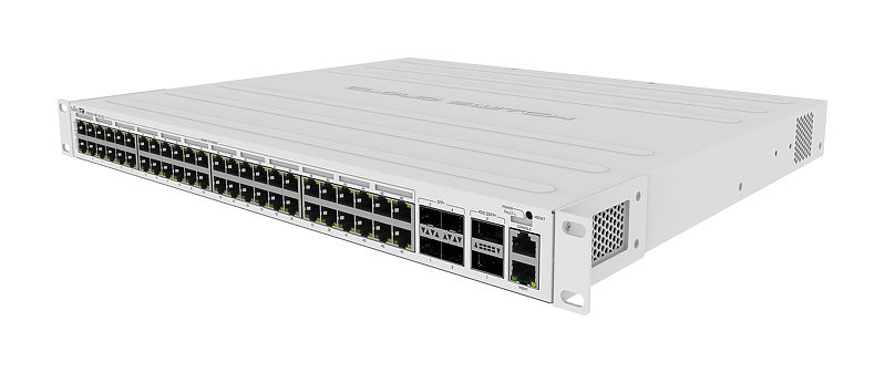 MikroTik Cloud Router Switch - CRS354-48P-4S+2Q+RM