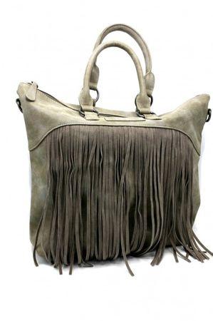Handtasche, Damentasche Tialda Vintage Farbe: Pebble – Bild 1