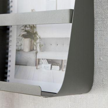 Magazinhalter tarngrün 25x13,5 cm Höhe 35 cm – Bild 4