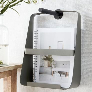 Magazinhalter tarngrün 25x13,5 cm Höhe 35 cm – Bild 3