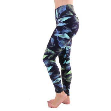 Yogahose, Yoga Legging Dark Forrest – Bild 2