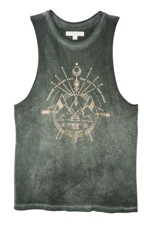Yoga Shirt Excite your spirit rocker – Bild 1