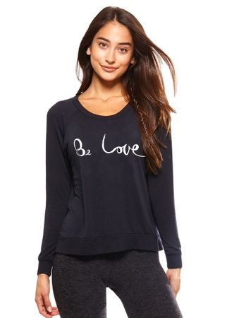 Be Love Raglan - vintage black