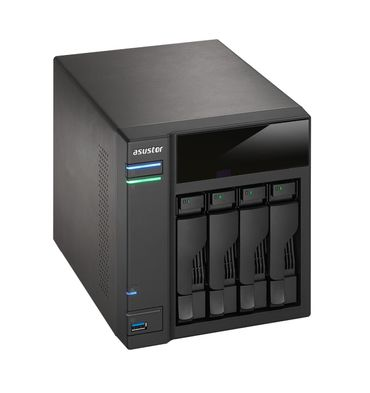 ASUSTOR AS-304T 4 Bay Desktop NAS System – Bild 2